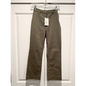 Theory Alvas New Chino Cropped Pants